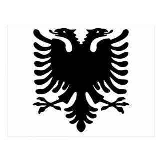 Albanian Eagle. Postcard