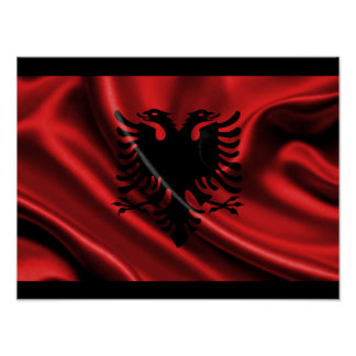Albanian Eagle Poster