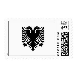 Albanian Eagle Stamp