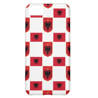 Albanian Flag and Crest iPhone 5C Case