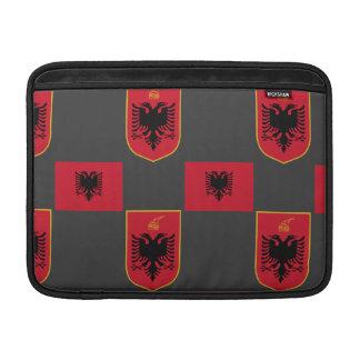 Albanian Flag and Crest Rickshaw Sleeve