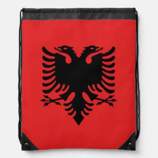 Albanian flag Backpack