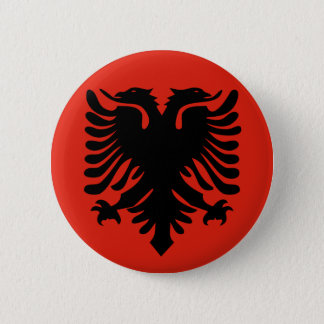 Albanian Flag Button