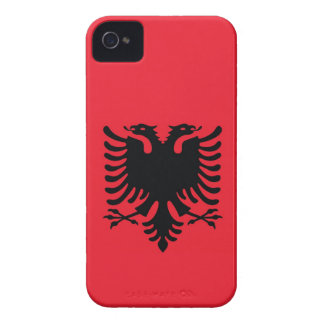 Albanian Flag iPhone Case iPhone 4 Case-Mate Case