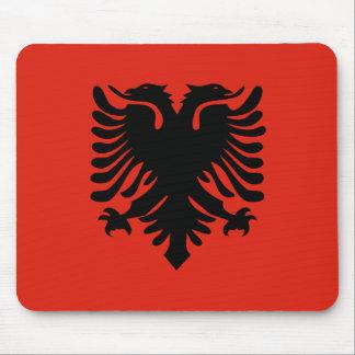 Albanian Flag Mouse Pad