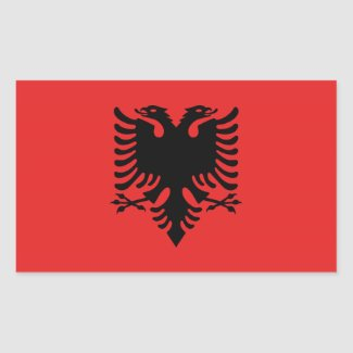 Albanian flag Stickers
