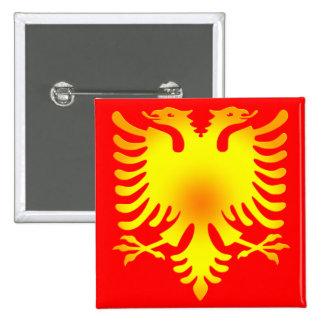 Albanian Golden Eagle Flag Pin