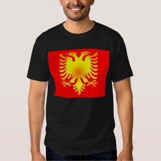 Albanian Golden Eagle Flag Shirt