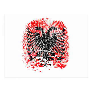 Albanian Identity Postcard
