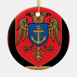 Albanian Naval Forces - Forcat Detare Ceramic Ornament