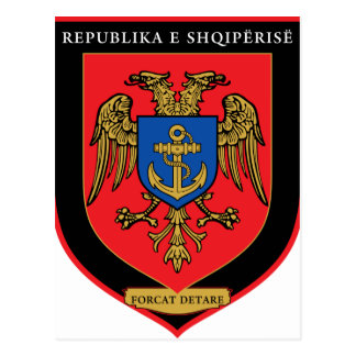 Albanian Naval Forces - Forcat Detare Postcard