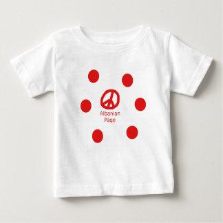 Albanian Peace Symbol Design Baby T-Shirt