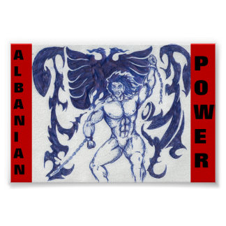 albanian power poster