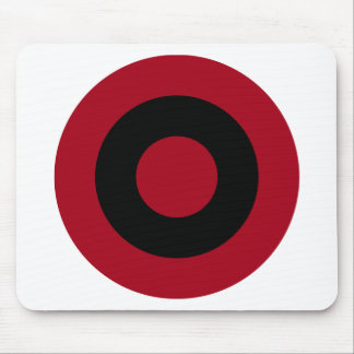 Albanian Roundel Mouse Pad