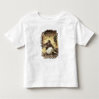 Albanian Sentinel Resting (Arnaueti) (oil on canva Toddler T-shirt