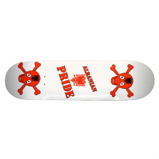 Albanian Skateboarding Deck