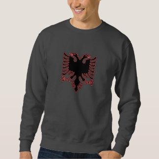 Albanian two-headed eagle sweatshirt
