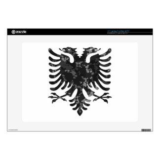 "Albanian Urban Camo Eagle 3D Skins For 15"" Laptops"