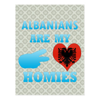 Albanians are my Homies Postcard