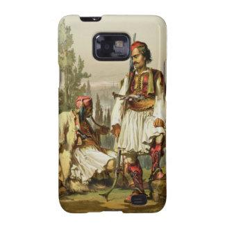 Albanians, mercenaries in the Ottoman army, pub. b Samsung Galaxy SII Case