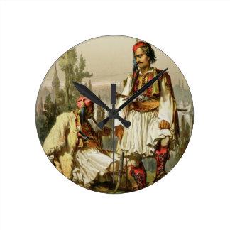 Albanians, mercenaries in the Ottoman army, pub. b Wall Clocks