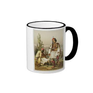 Albanians, mercenaries in the Ottoman army, pub. b Ringer Coffee Mug