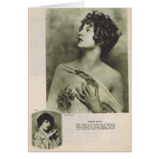 Albañil 1924 de Shirley Tarjeta De Felicitación