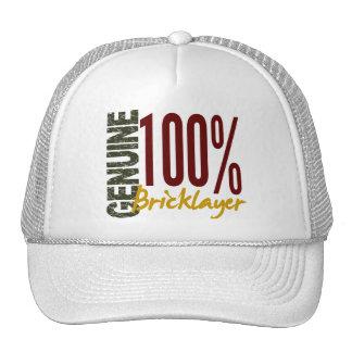 Albañil auténtico gorras de camionero