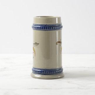 Albañil de la capilla jarra de cerveza