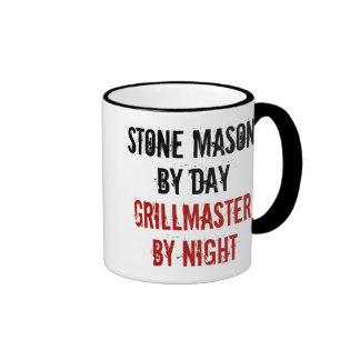 Albañil de piedra de Grillmaster Taza De Dos Colores
