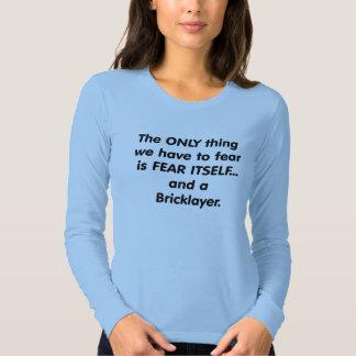 Albañil del miedo remeras