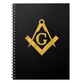 """""""Albañil masónico para la vida """" Notebook"""