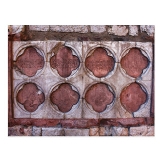 Albañilería de Assisi Italia Tarjeta Postal