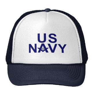 Albañiles de la marina de guerra gorras