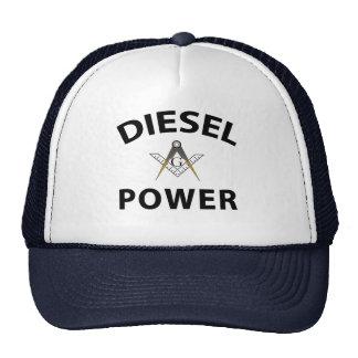 Albañiles de trueque de motor diesel gorra