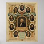 Albañiles distinguidos de la revolución americana poster