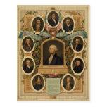 Albañiles distinguidos de la revolución americana postales