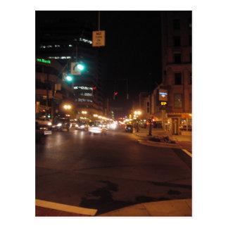 albany at night: pearl street postcard
