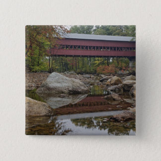 Albany Bridge, just off the Kancamagus Button