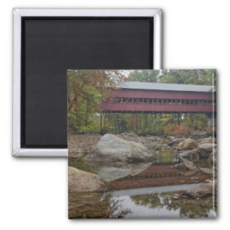 Albany Bridge just off the Kancamagus Refrigerator Magnets