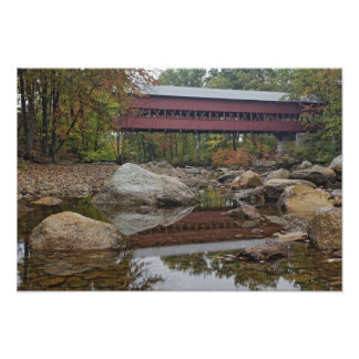 Albany Bridge, just off the Kancamagus Photo Print