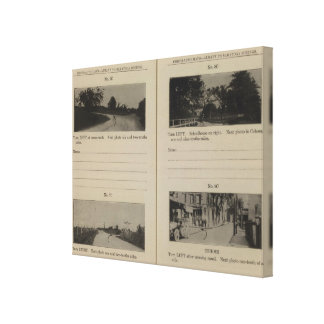 Albany Cohoes Stretched Canvas Prints