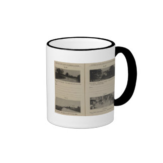 Albany Cohoes Taza De Dos Colores