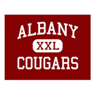 Albany - Cougars - High - Berkeley California Postcard