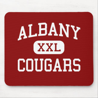 Albany - Cougars - High School - Albany California Mouse Pad