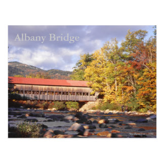 Albany Covered Brdge New Hampshire Postcard