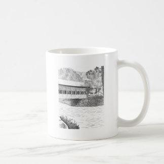 Albany Covered Bridge Coffee Mugs
