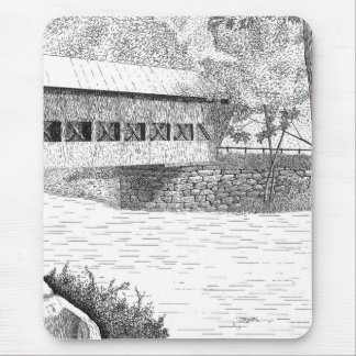Albany Covered Bridge Mouse Pad