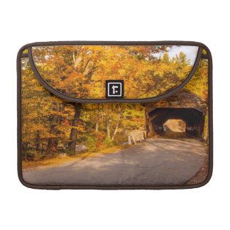 Albany Covered Bridge Near Conway MacBook Pro Sleeve