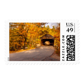 Albany Covered Bridge Near Conway Stamp